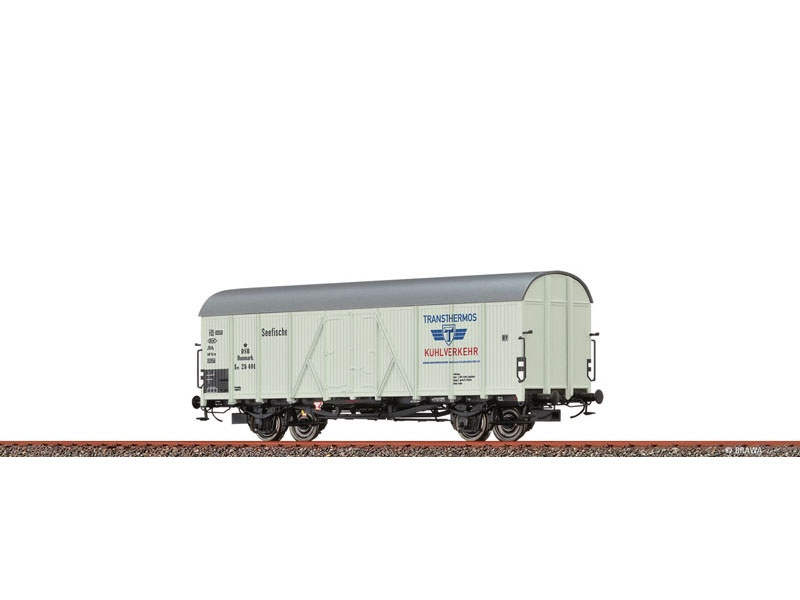Kühlwagen Ipi DSB, III, Transthermos, DC, Spur H0