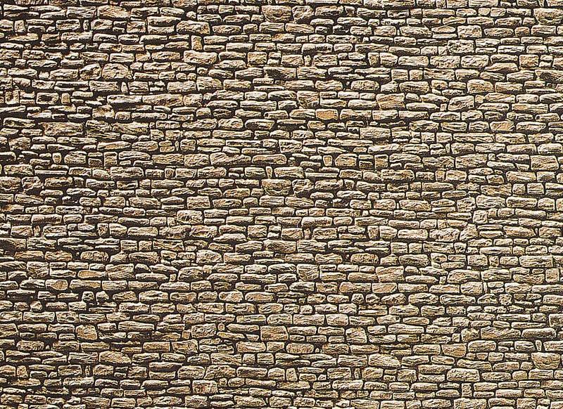 Mauerplatte, Bruchstein 250 x 125 x 0,5 mm N