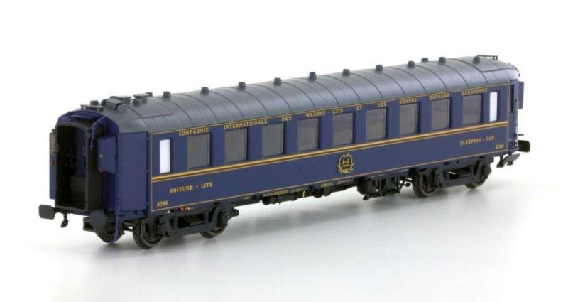 Liegewagen Typ F der  CIWL, 1./2. Klasse, Epoche IIIc, H0