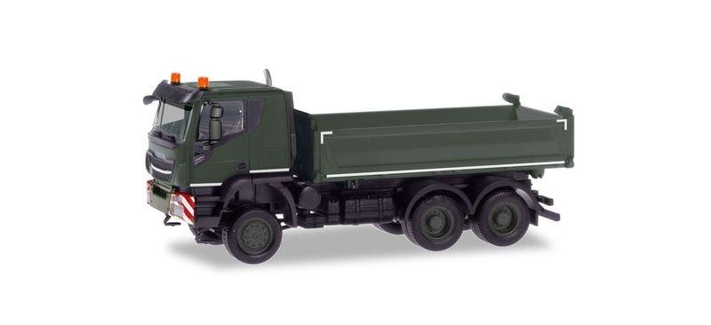 Iveco Trakker 6x6 Baukipper-LKW  Schweizer Armee 1:87 / H0