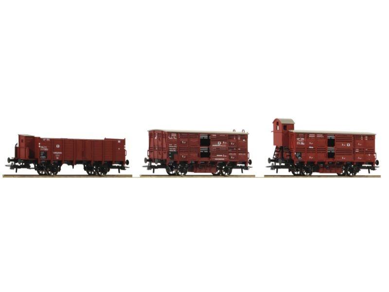 Güterwagen-Set der KPEV, Epoche I, Spur H0