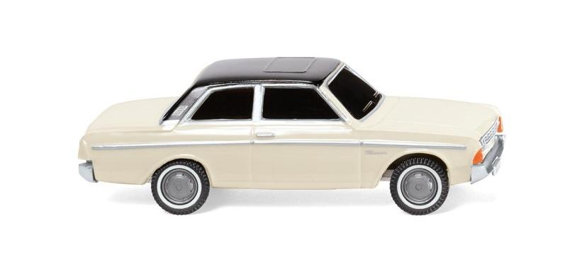 Ford 20M, perlweiß mit schwarzem Dach, 1:87, H0