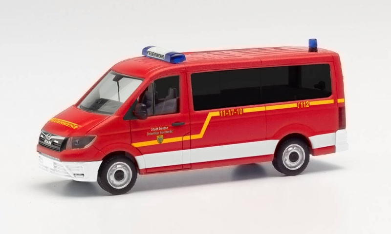 MAN TGE Bus FD Feuerwehr Goslar, 1:87 / H0