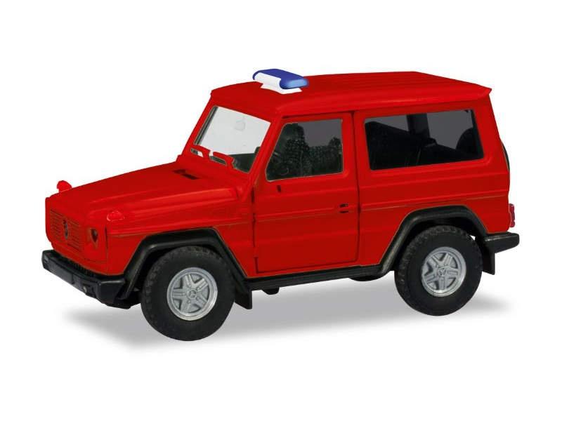 MiniKit: Mercedes-Benz G-Klasse, rot, 1:87 / H0