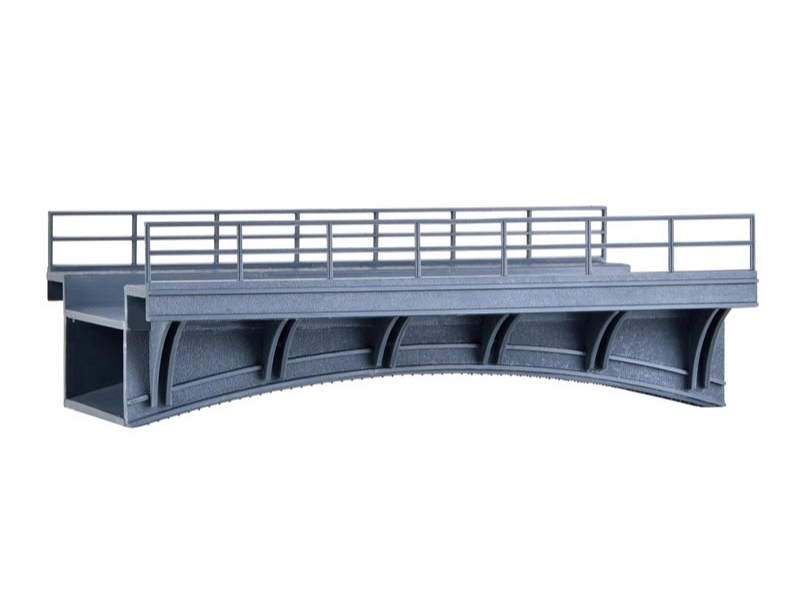Bahnüberführung, Bausatz, Spur H0