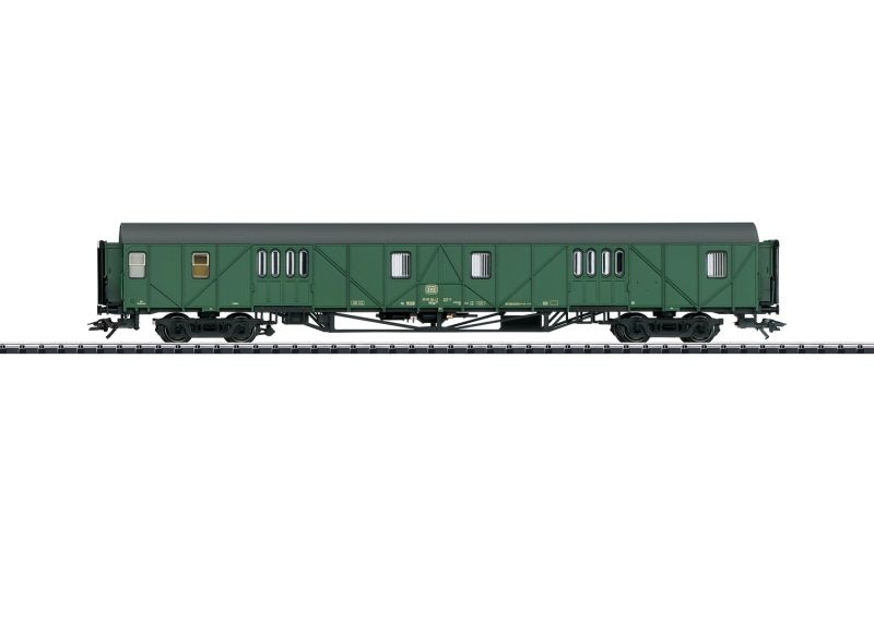Behelfsgepäckwagen Mdyge 986 der DB, Spur H0
