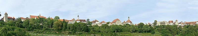 Modellhintergrund Kleinstadt 2700 x 500 mm