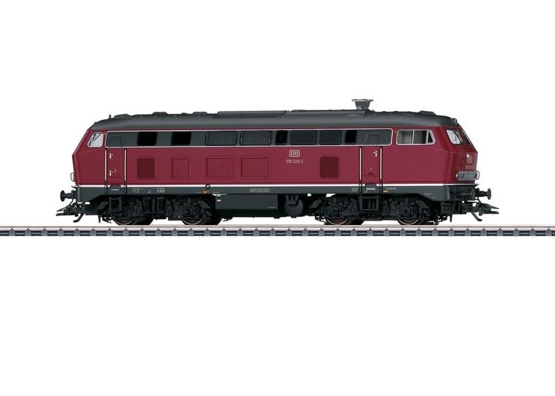 Diesellok BR 218 der DB, Sound, mfx+, DCC, AC, Spur H0