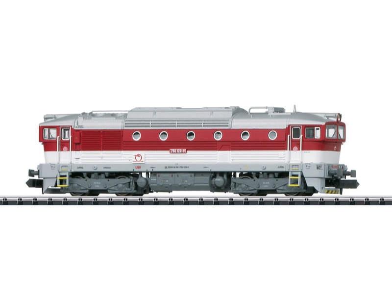 Diesellok Serie 750 ZSSK Spur N