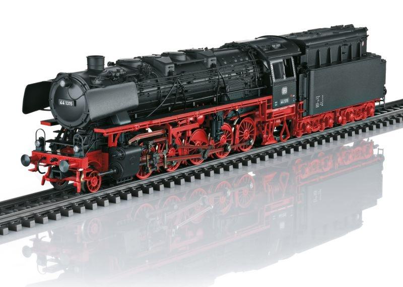 Dampflokomotive BR 44 der DB, mfx+, Sound, AC, Spur H0
