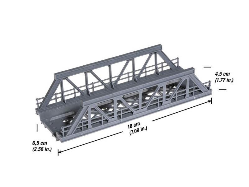 Vorflut-Brücke 180 mm Spur H0