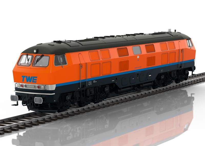 Diesellokomotive V 320 der TWE, Sound, mfx, DCC, Spur 1