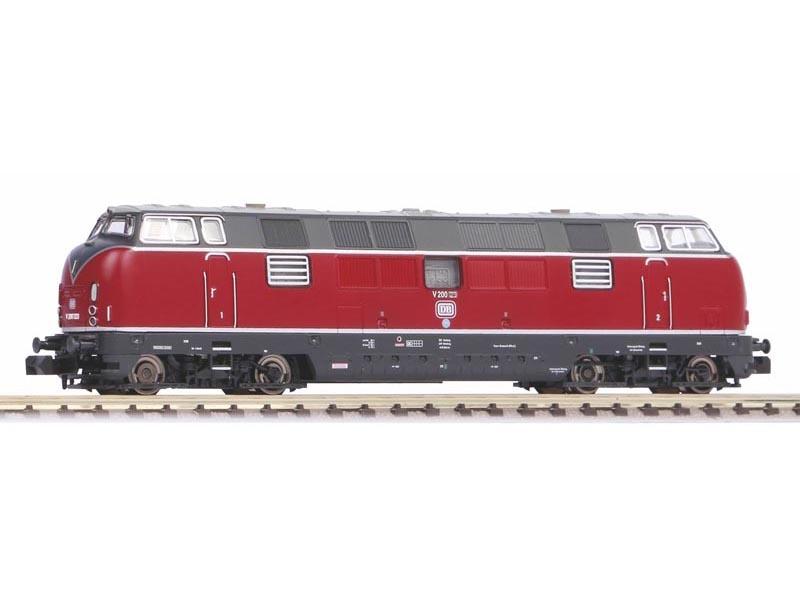 Diesellokomotive V 200.1 der DB, Ep. III, DC, Spur N
