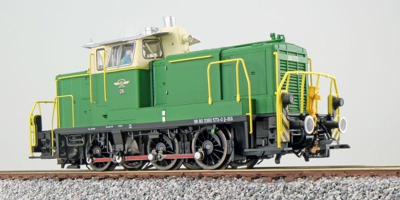 Diesellok BR V60 360 573, BE, Sound+Rauch, DC/AC, Spur H0
