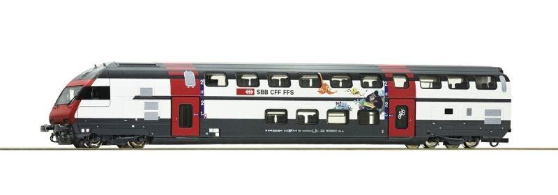 Doppelstock-Steuerwagen BT IC2000 der SBB, Ep. VI, Spur H0