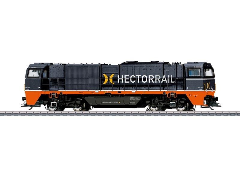 Schwere Diesellok Vossloh G 2000, Hectorrail, Sound mfx+, H0