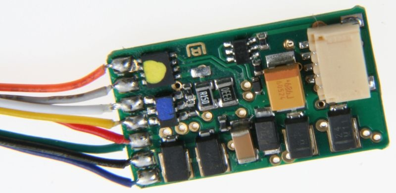 IntelliDrive 2 8-poliger Decoder, NEM 652