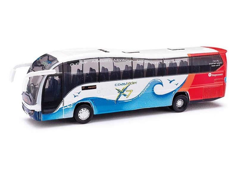 Oxford Diecast Plaxton Elite Reisebus, Spur N