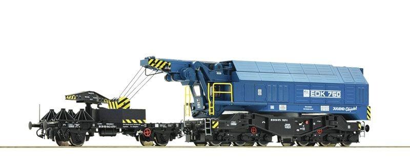 Digital-Eisenbahndrehkran EDK 750, DR, Sound, DC, Spur H0