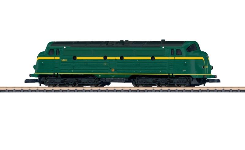 Diesellokomotive Serie 54 der SNCB, Spur Z