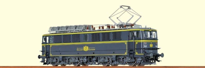 E-Lok BR 242 der Lokoop, Orient-Express, Ep. IV, AC, Spur H0