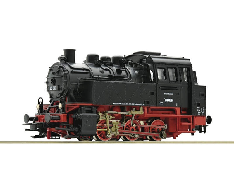 Dampflokomotive BR 80 DB H0