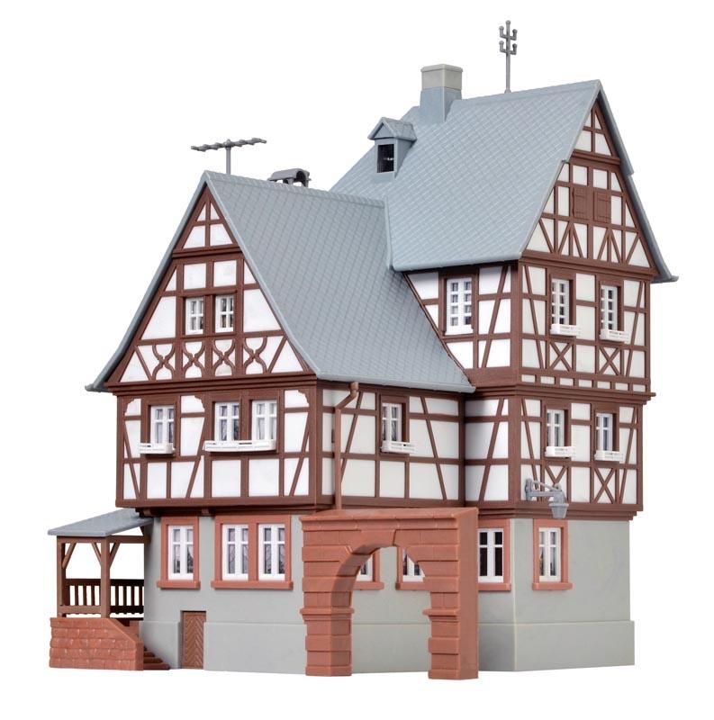 Torhaus Miltenberg, Bausatz, Spur H0