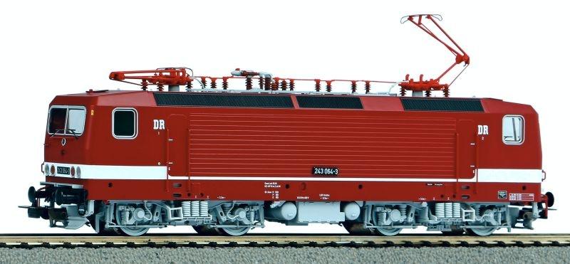 Sound-E-Lok BR 243 der DR, Ep. IV, AC, Spur H0