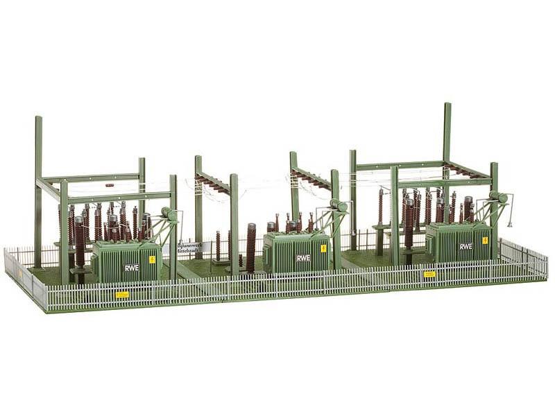 Umspannwerk Bausatz H0