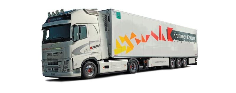 Volvo FH Gl XL 2020 Kühlkoffer-Sattelzug Krummen Kerzers, H0