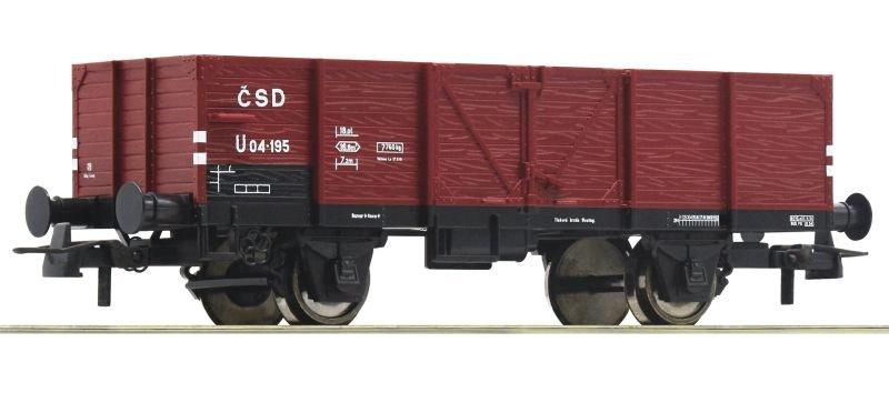 Offener Güterwagen der CSD, DC, Spur H0