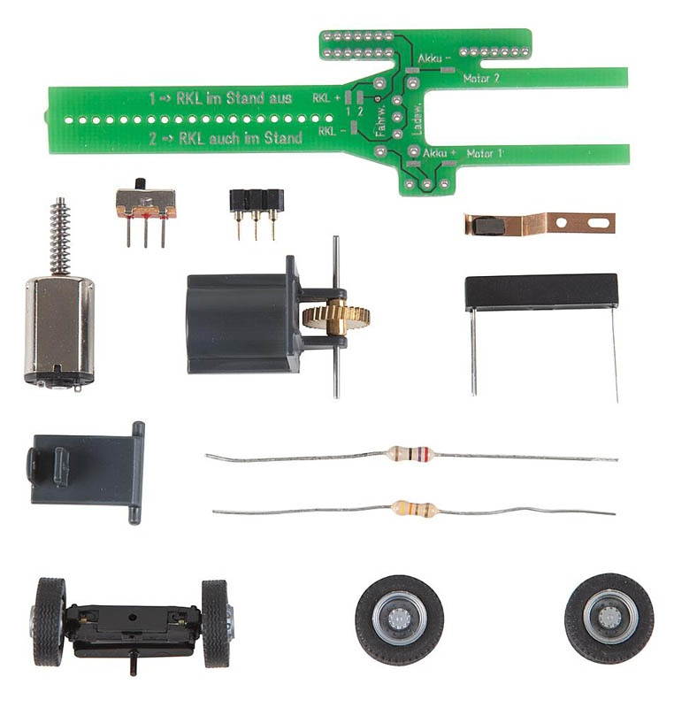 Car System Chassis-Kit Bus, LKW H0