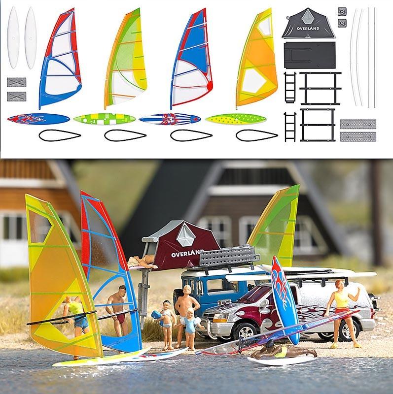 Windsurfer-Set, Spur H0