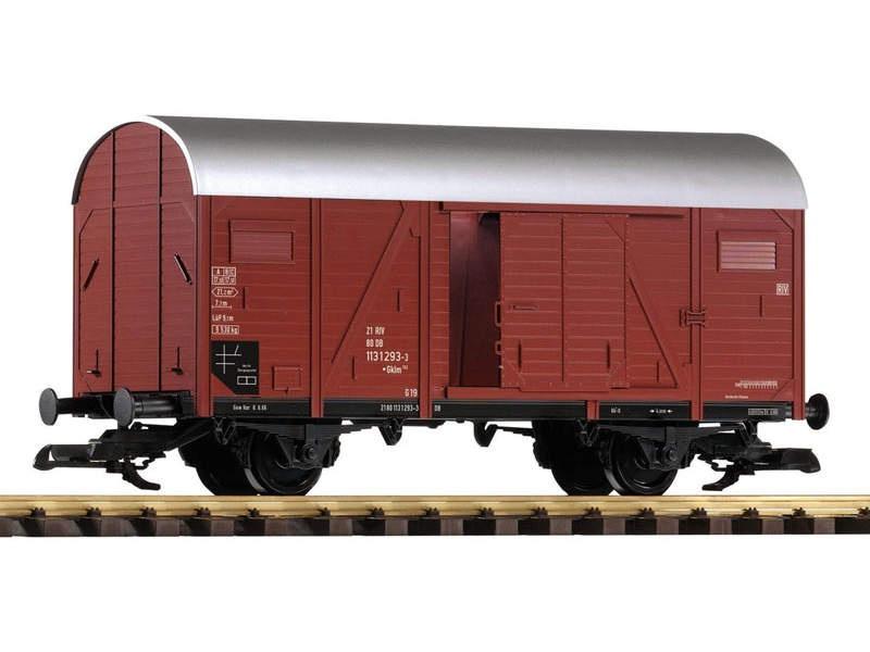 Gedeckter Güterwagen der DB, IV, Spur G