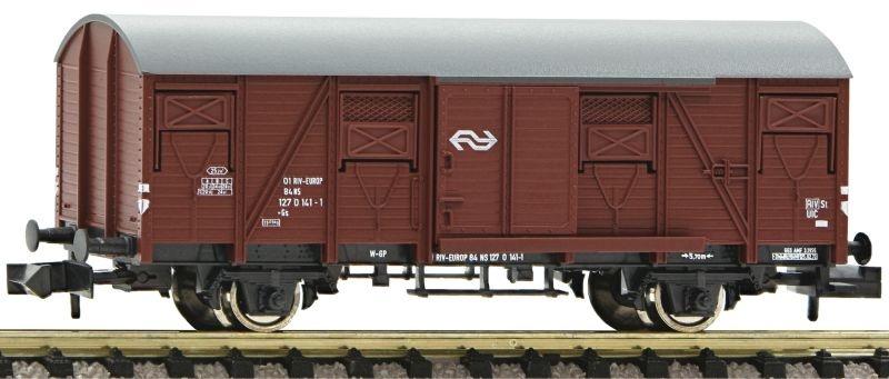 Gedeckter Güterwagen Bauart Gs der NS, DC, Spur N