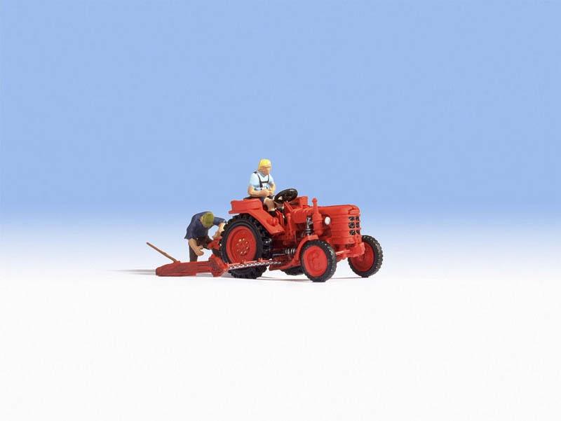Traktor Fahrer Spur H0