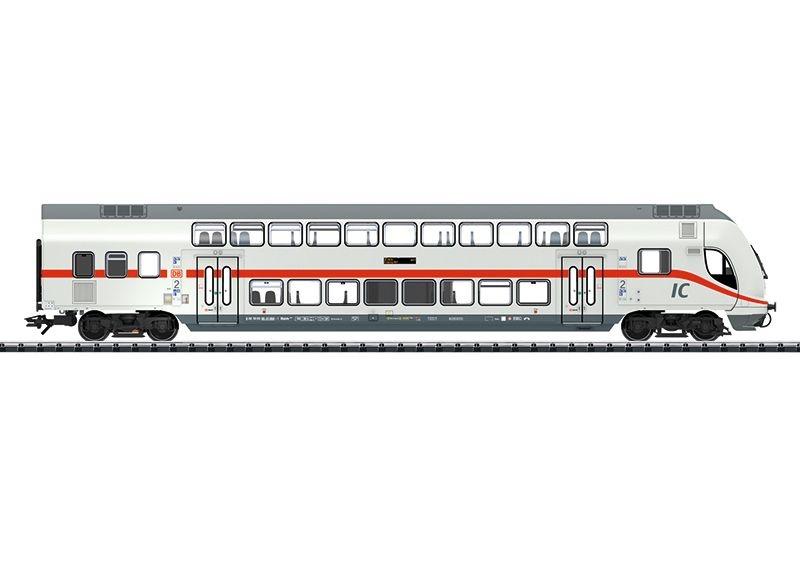 IC-Doppelstock-Steuerwagen 2. Klasse der DB, Ep.VI, Spur H0