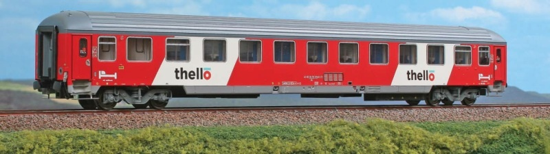 Liegewagen UIC-X der FS - Thello, DC, Spur H0