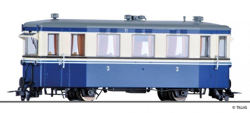 Triebwagen T2 der MEG, NEM 662, Spur H0m