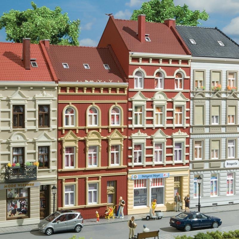 Stadthäuser Schmidtstraße 27/29, Bausatz, Spur H0
