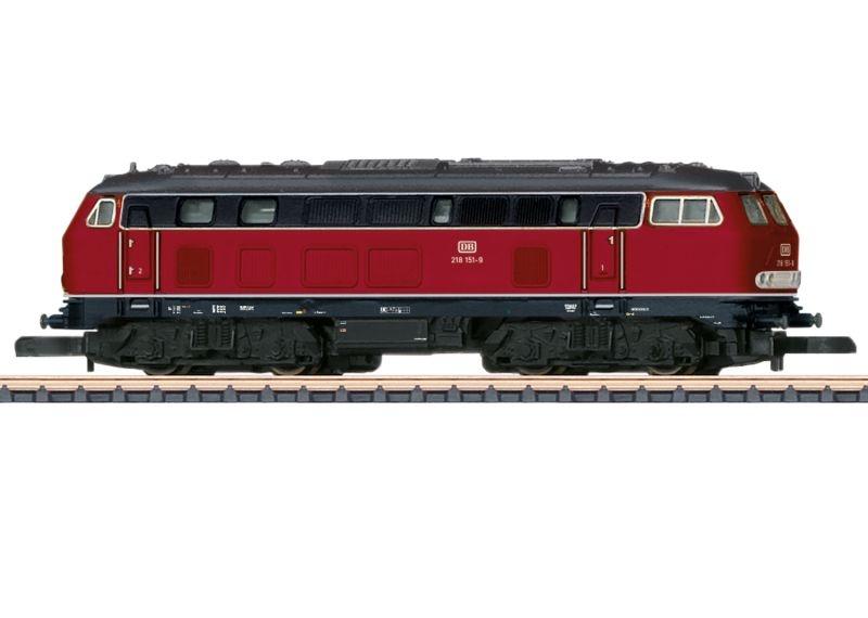 Diesellokomotive Baureihe 218 der DB, Spur Z