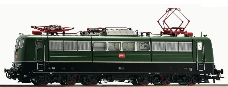 Sound-E-Lok BR 151 grün der DB, Epoche IV, Spur H0