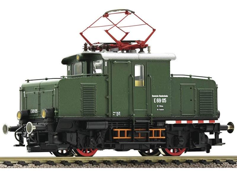 Elektrolokomotive E69 05 der DB, DCC, DC, H0