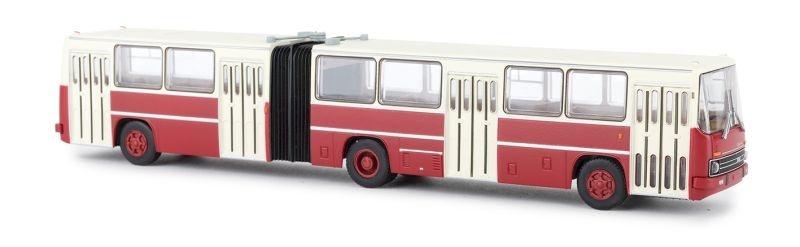 Ikarus 280.02 weiss/rot Stadt-Gelenkbus, H0