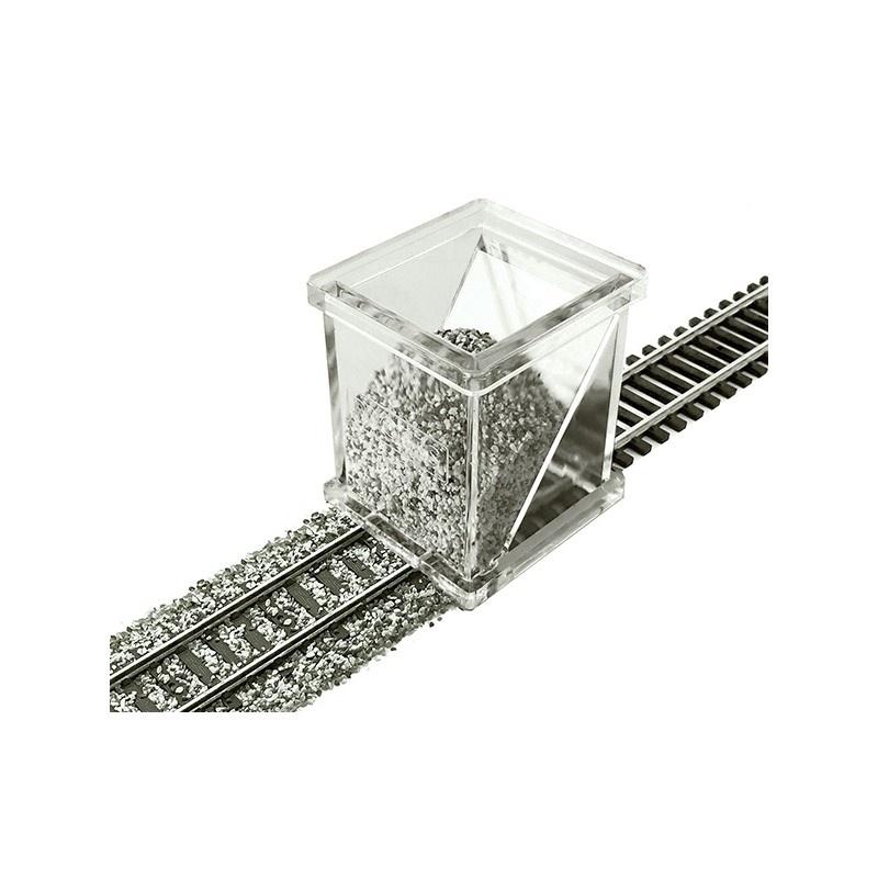 Schotterverteiler für Märklin Schienen, Spur H0