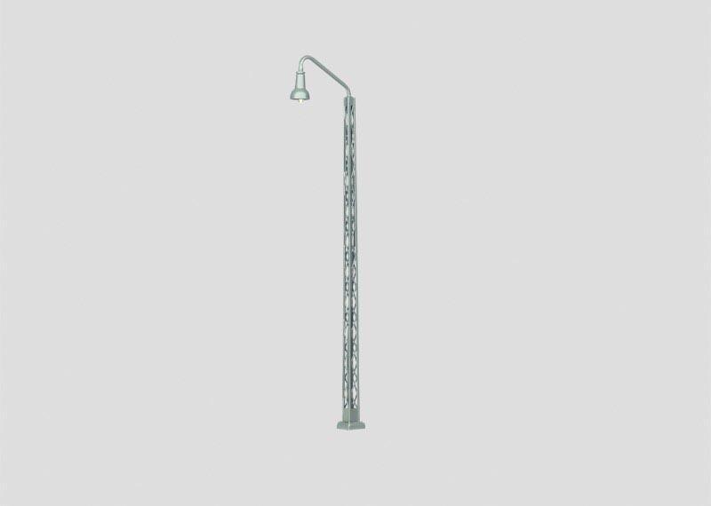 Bahnbetriebswerk-Gittermast-Leuchte 140mm H0