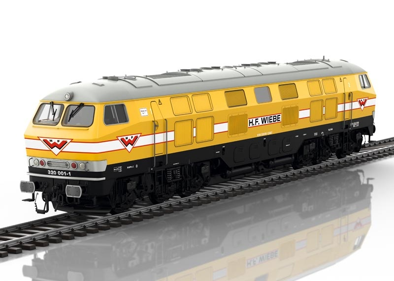 Diesellokomotive V 320 001 Wiebe 7, Sound, mfx, DCC, Spur 1