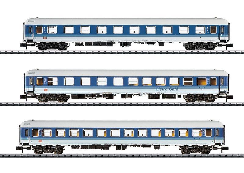 Personenwagen-Set 30 Jahre Interregio, 3-tlg, Ep.IV,Spur N
