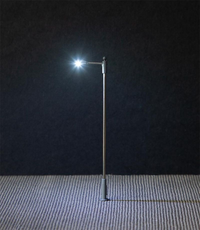 LED-Straßenbeleuchtungen, Ansatzleuchte, 3 Stück, H0