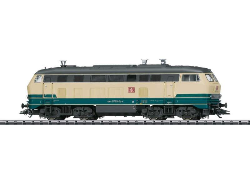 Diesellok BR 217 014-0 der DB AG, DC, Spur H0